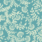 Vector Seamless texture with flowers Endless floral pattern