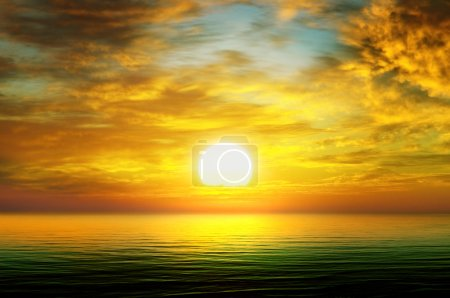 Photo for Sunrise over the sea - Royalty Free Image