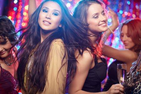 Photo for Girls having fun at club tonight - Royalty Free Image