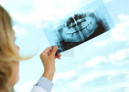 Looking at x-ray
