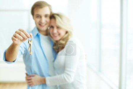 Key to new flat