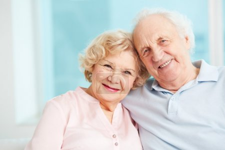 Photo for Portrait of a candid senior couple enjoying their retirement - Royalty Free Image