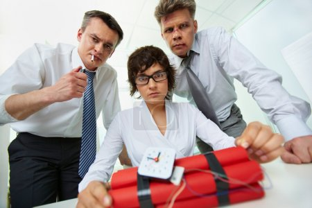 Business terrorists