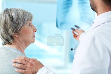 Anxious patient