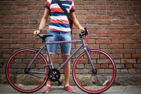 Bicycle and its owner