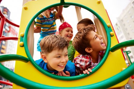 Joyful children