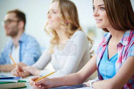 Groupmates at seminar