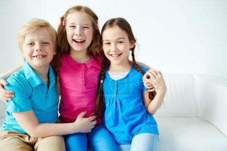 drei kleine Freunde