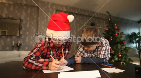 Posílání vánoční dopis