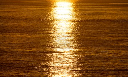 Photo for Sunrise and sunshine over sea - Royalty Free Image