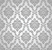 Seamless damask vector wallpaper and pattern