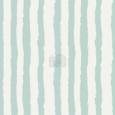 Illustration pour Modèle sans couture avec des rayures verticales grunge. Illustration vectorielle - image libre de droit