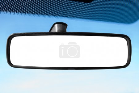Photo for Rear view mirror - Royalty Free Image