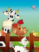 Farma zvířat kreslený