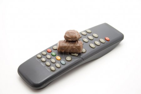 Chocolate on channel changer