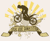 trial bike competition design template