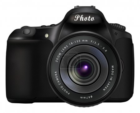 Digital SLR photo camera