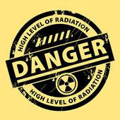 Nuclear danger stamp