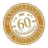 Stamp 60 anniversary