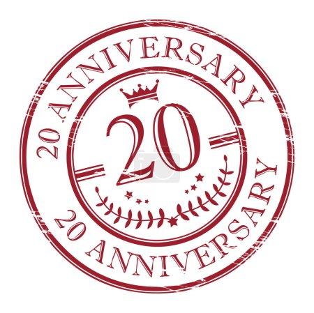 Stamp 20 anniversary