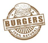 Burgers stamp