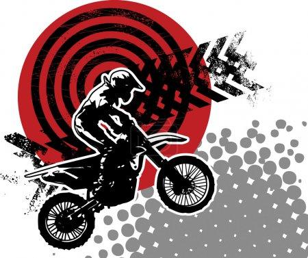 Motocross background