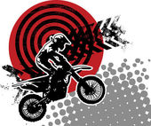 Motocross background abstract
