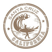 Santa Cruz California stamp