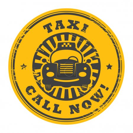 Call Now taxi stamp