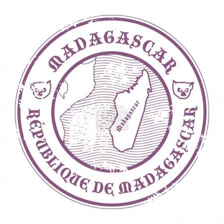 Мадагаскар штамп