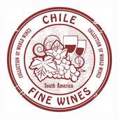 Chile Fine Wines stamp