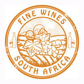 South Africa, Fine Wines stamp