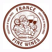 France Fine Wines stamp