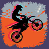 Motocross abstract