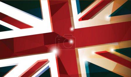 British flag abstract