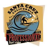 Surfer sign