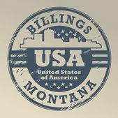 Montana Billings stamp