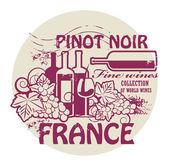 Fine Wines stamp
