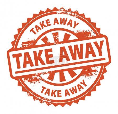 Take Away stamp