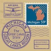 rubber stamp Michigan