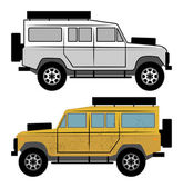 Off-road vehicle vector illustration