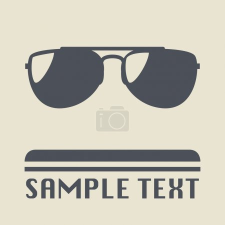 Sunglasses icon or sign