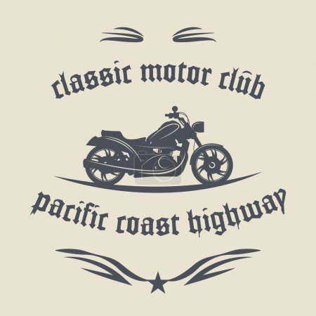 Motorcycle label