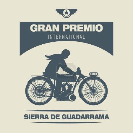 Oldtimer-Motorrad-Rennen