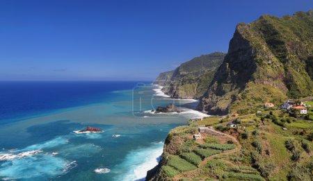 Coastline near Santana (Madeira, Portugal)