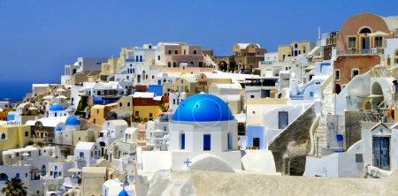 Amazing white houses of Santorini