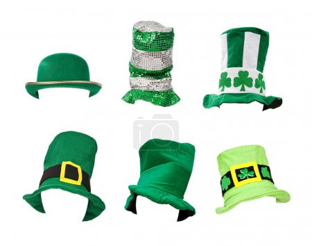 assortiment de st chapeaux de patricks day