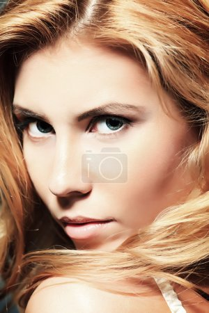 Closeup face