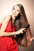 iron hair