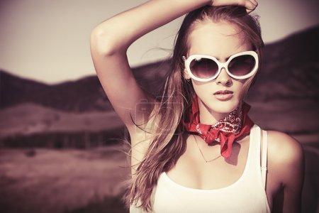 Gorgeous model